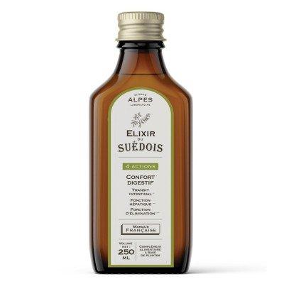 Elixir à boire du Suédois à base de  plantes bienfaisantes au quotidien