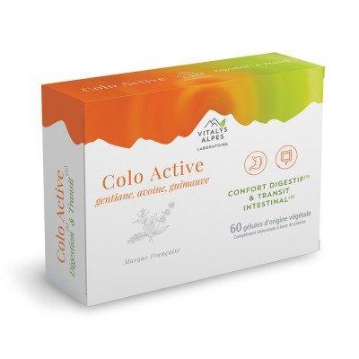 60 gélules en  complément alimentaire Colo Active contre la mauvaise digestion et les problèmes de transit