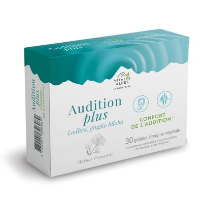 Complément alimentaire Audition Plus pour le confort auditif