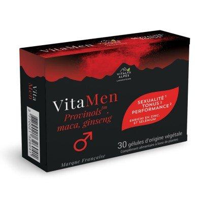 Complément alimentaires Vitamen contre les troubles de l'érection