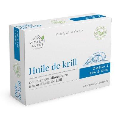 Complément alimentaire Huile de Krill contre l'inflammation articulaire