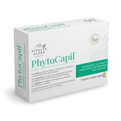 Complément alimentaire Phytocapil pour la croissance des cheveux