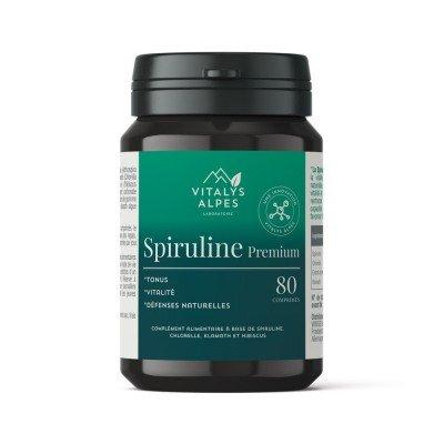 Complément alimentaire Spiruline Premium pour aider à lutter contre la fatigue