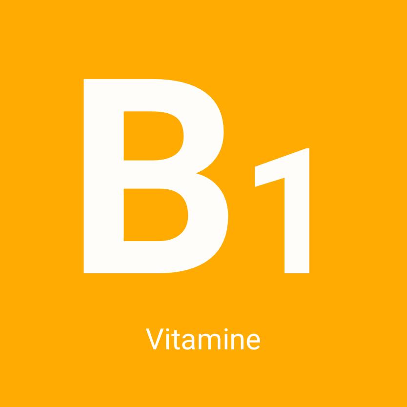 La vitamine B1, bon pour le cœur et le moral